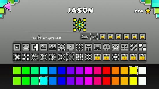 Geometry Dash на планшет