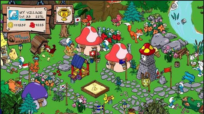 Smurfs Village-1