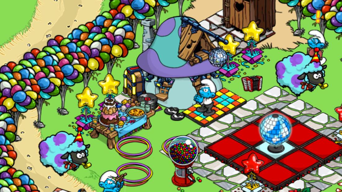 Smurfs Village-2